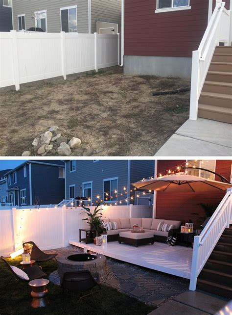 small backyard ideas before after best 25 small backyard landscaping ideas on