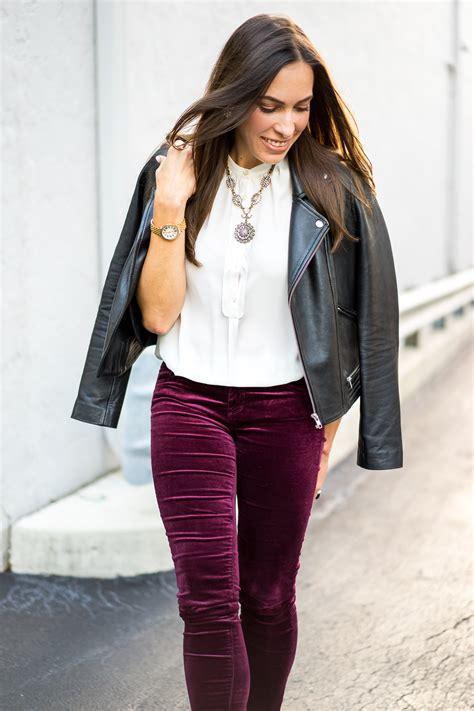 Velvet Wear how to wear velvet for fall a glam lifestyle