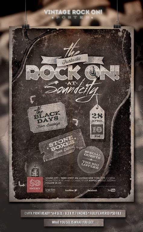 28 band flyer templates free 7 free band flyer