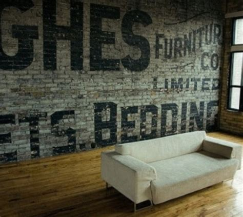 Wall Mural New York rotulacion a mano creando un falso ghost sign en