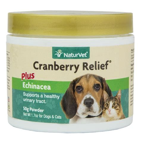 cranberry pills for dogs naturvet cranberry relief urinary support cat powder supplement