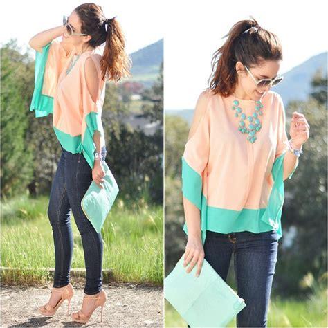 Pastel Blouse Salwa Jumbo crris loveshoppingandfashion sheinside blouse pastel blouse lookbook