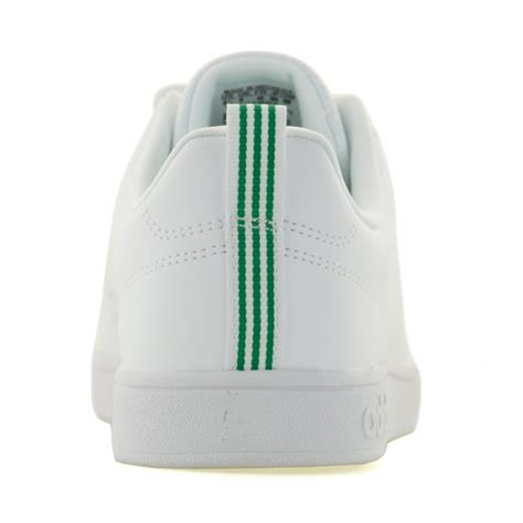 Adidas Neo Advantage Whitegreen adidas performance adidas performance mens neo advantage clean 116 trainers white green