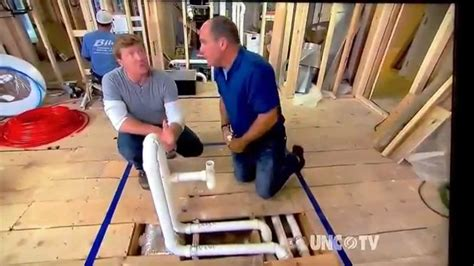 how to run plumbing proper drain vent for island sink youtube