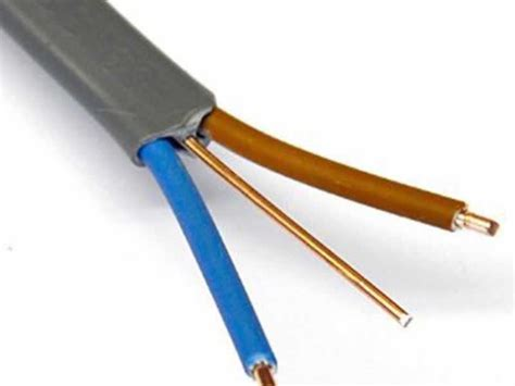 pvc sheathed wiring system 6241y 6242y 6243y pvc insulated pvc sheathed flat cable