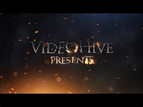 Infernal Cinematic Trailer After Effects Project Youtube Trailer Template After Effects Project