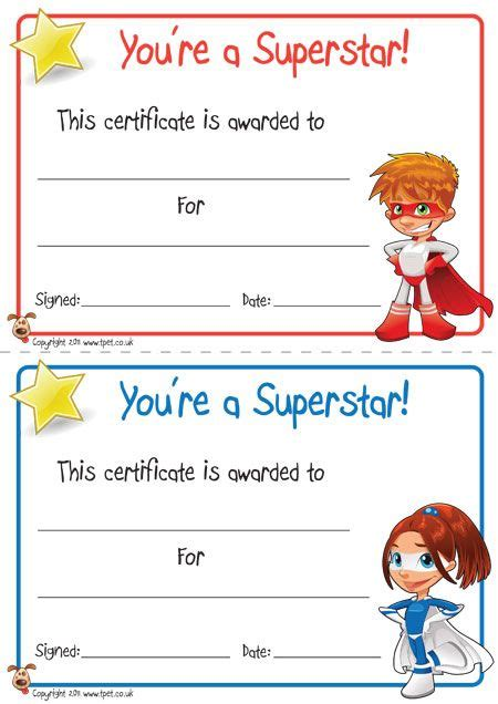 classroom certificates templates certificates free classroom display resource
