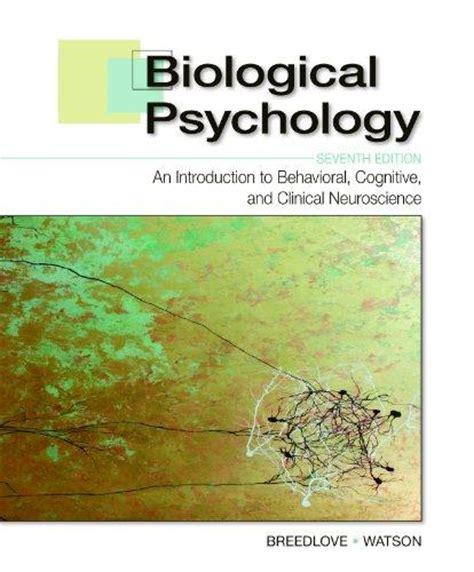 discovering behavioral neuroscience an introduction to biological psychology mindtap course list books biological psychology an introduction to behavioral