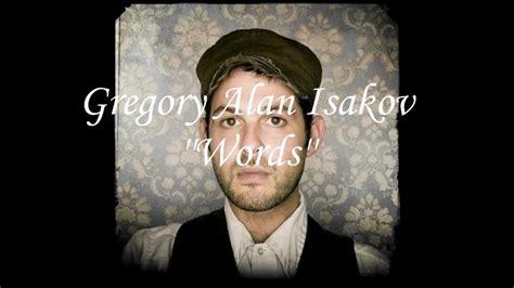 lyrics isakov gregory alan isakov words lyrics