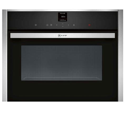 Microwave Oven Ur 1807 neff c17ur02n0b compact microwave oven stainless steel
