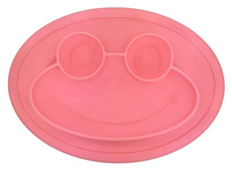 Nuby Frog Silicone Placemat Green silicone frog suction placemat for