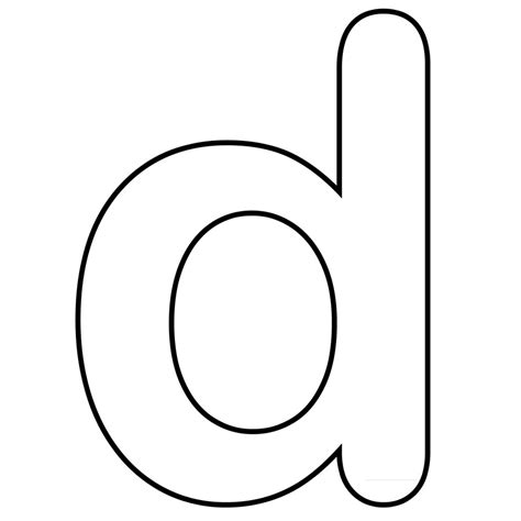 d color letter d dr