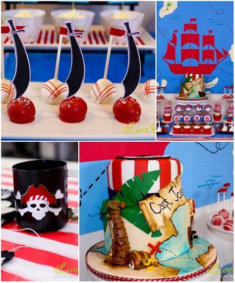 pirate themed birthday decorations kara s ideas pirate planning ideas supplies