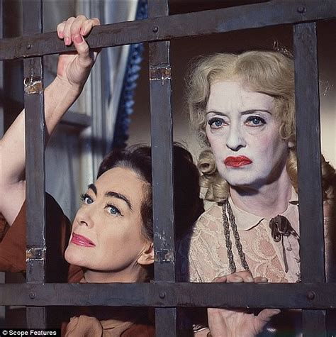 bette davis joan crawford fx drops new clip of ryan murphy s feud bette and joan daily mail online