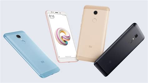 Handphone Xiaomi Redmi Note 5 xiaomi redmi note 5 oficjalnie zaprezentowany swiatandroid pl
