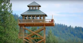 lookout tower plans dabney and alan finished building their off grid fire lookout tower in 2010 a year and a half