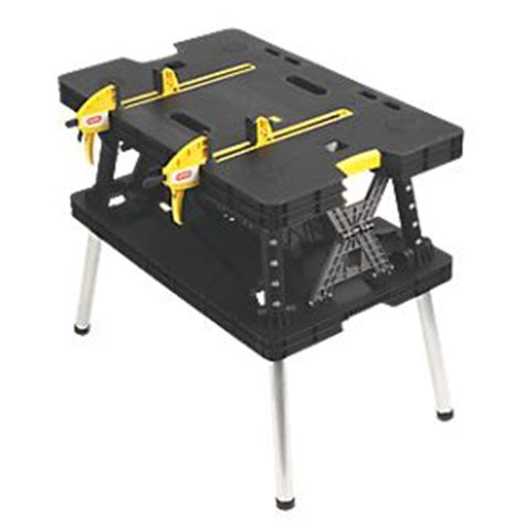 keter folding work bench keter folding workbench with 2 cls brand new with 1