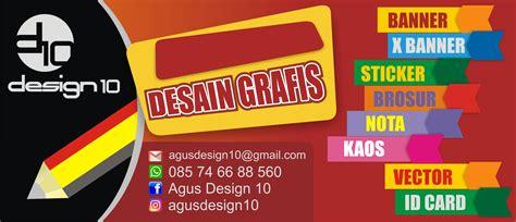 contoh desain banner design  design