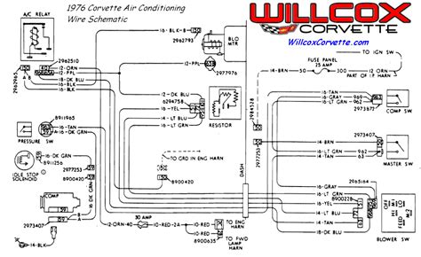 1976 corvette wiring diagrams wiring diagrams