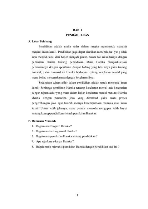 Biodata Penulis Hamka | biografi hamka