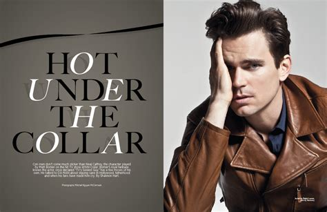 White Collar Cowboy exclusive feature matt bomer da magazine
