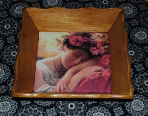 simple decoupage 17 best images about decoupage serving trays on