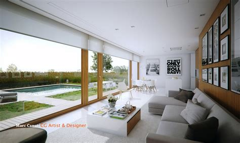 home living space a fresh take on the guest house by marc canut visualized