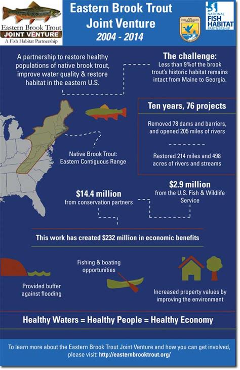 Joint Venture Giveaways - a fishy success story the eastern brook trout joint venture