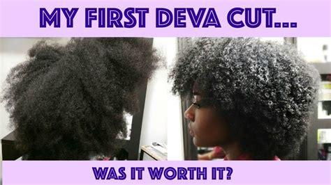 the deva cut black hair my first deva cut was it worth it type 4 natural
