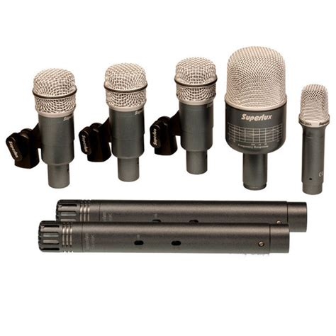 Microphone Superlux by Superlux Drkb5c2mkii Microphone Set Heartbeat Worship