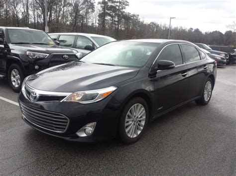 2014 Toyota Avalon Xle Touring Certified Pre Owned 2014 Toyota Avalon Hybrid Xle Touring