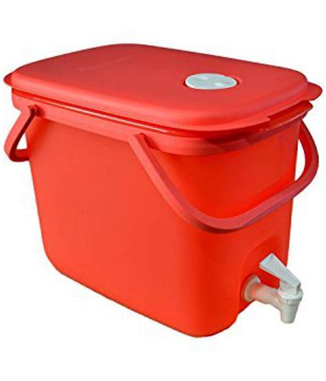 Water Dispenser New Tupperware tupperware plastic water dispenser 10 litres multicolour