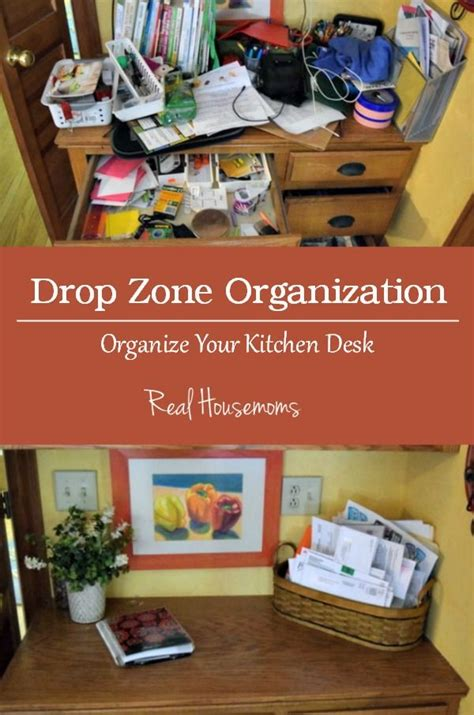 Kitchen Desk Organization Organize It Kitchen Desk Organization