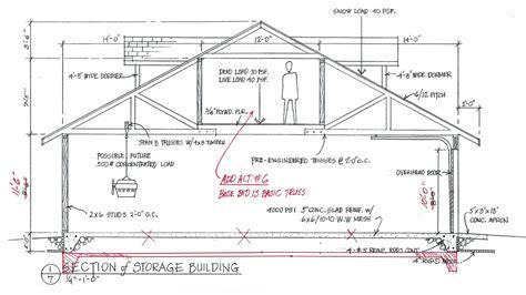 Single Car Garage Plans Free by One Car Garage Plans Free Free Garage Building Plans