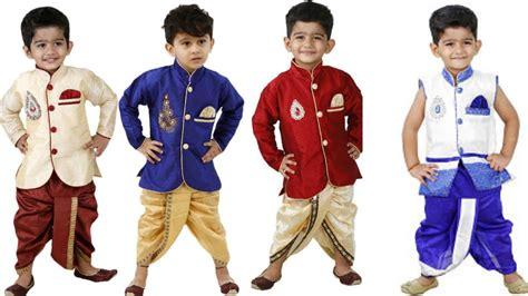 Dress Ninos by Dress For Boys Dresser Dhoti Kurts