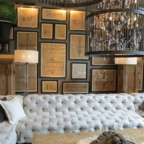 Restoration Hardware Tufted Sofa Restoration Hardware Restoration Hardware Tufted Sofa