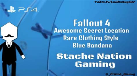 Jaket Secret Hoodie Gaming 2015 fallout 4 awesome secret location clothing style blue bandana