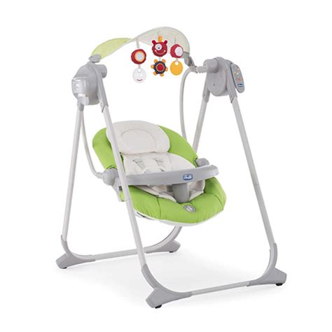 chicco dondolo polly swing altalena chicco polly swing up 51 green ebay