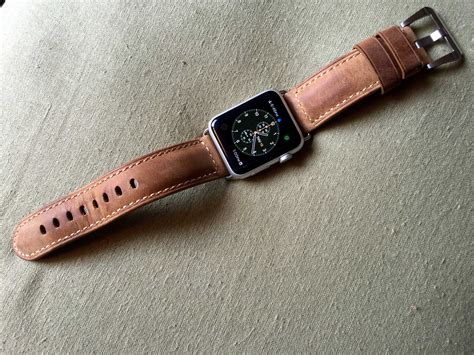 apple watch strap review nomad leather strap for apple watch
