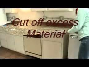Kitchen Backsplash Tile Stickers instant granite install countertops youtube