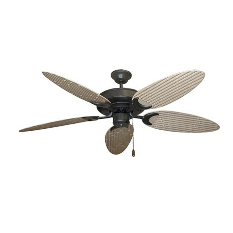 Bamboo Ceiling Fans by Bamboo Ceiling Fan Rubbed Bronze Customize With 12