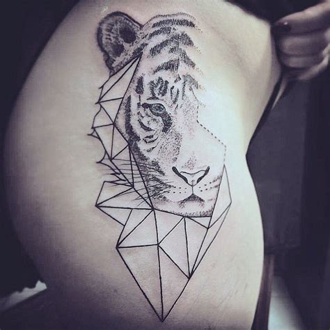 geometric tiger tattoo 513 best images about that i on