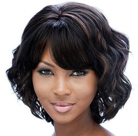 gallery staly wave black women hair groovy short bob hairstyles for black women styles weekly