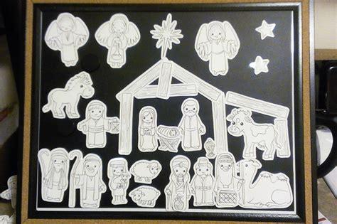 printable advent nativity calendar i made a diy illustrated advent calendar nativity set