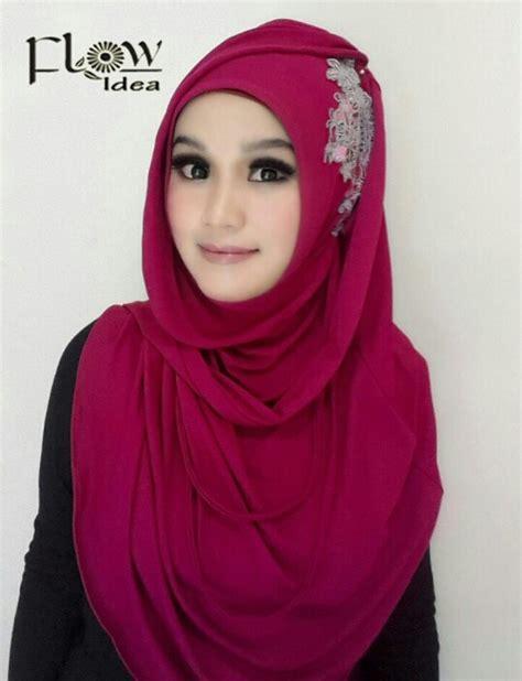 Abaya Bordir Mouna Biru Free Pasmina flow idea terbaru toko nairahijab jual jilbab branded