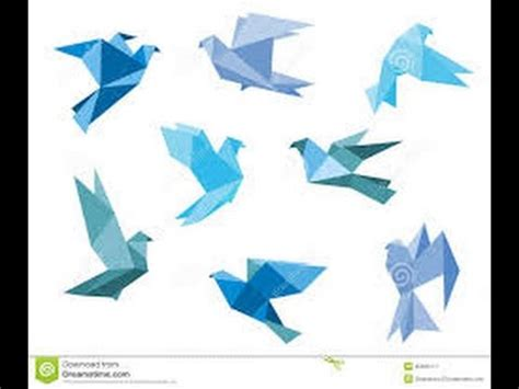 How To Make Animal Paper - origami paper how to make an origami dove origami