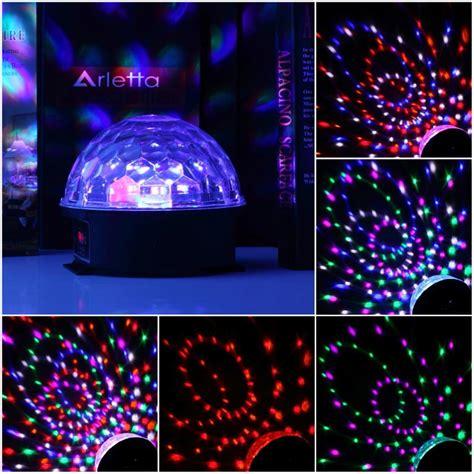 Usb Disco Light Fever by Stage L Geluid Controle 6 Kleuren Magic