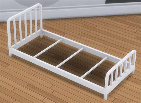 toddler bed frame toddler metal bed frame mattress at veranka 187 sims 4 updates