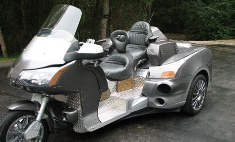 Henza Trijee ford focus honda goldwing trike sells for 9 100