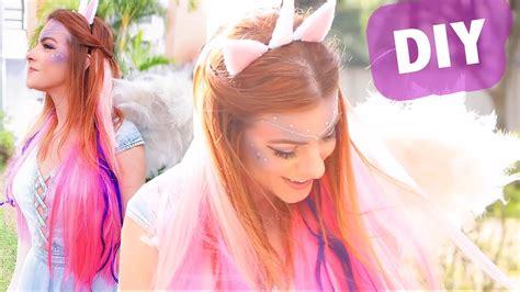 imagenes de fantasia unicornios diy fantasia de unic 243 rnio youtube